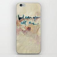Real Love iPhone & iPod Skin