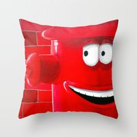 Right Back Throw Pillow