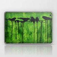 Urban Birds - Birds on a Wire Laptop & iPad Skin