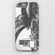 Paris Life Black And Whi… iPhone 6 Slim Case