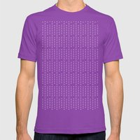 down Mens Fitted Tee Ultraviolet SMALL