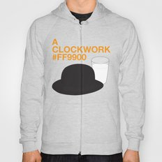 A Clockwork #FF9900 Hoody