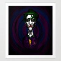 Sad Joker Art Print