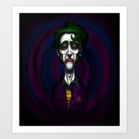 Sad Joker Art Print