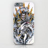 iPhone & iPod Case featuring Unicorn by Tilden Art