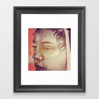 Pencil WIP Framed Art Print