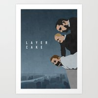 LAYER CAKE Art Print