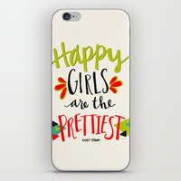 Happy Girls Are The Prettiest iPhone & iPod Skin