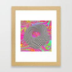 Day 0105 /// Jigltrip Framed Art Print
