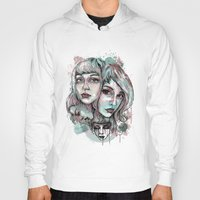 Faces and Color Hoody