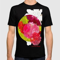 Love & Hope Mens Fitted Tee Black SMALL