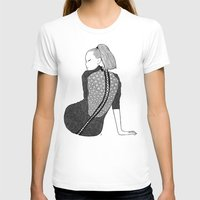 LA FEMME 13 Womens Fitted Tee White SMALL