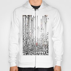 Black and White Noise Hoody