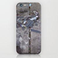 Skates Cementery iPhone 6 Slim Case