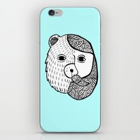 Werebear iPhone & iPod Skin
