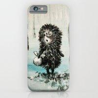 Hedgehog in the fog iPhone 6 Slim Case