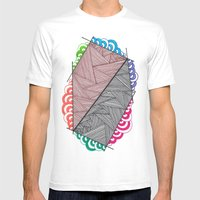 Shape 5 Mens Fitted Tee White SMALL