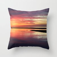 SEA ZEN Throw Pillow
