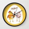 Chickasso Wall Clock