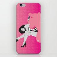 Geekette sur Kirby iPhone & iPod Skin