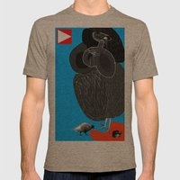 Ruthless Pigeon  Mens Fitted Tee Tri-Coffee SMALL