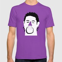Ghost Dog Mens Fitted Tee Ultraviolet SMALL