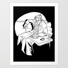Spotlight on Mike Art Print