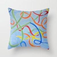 Dancing Joy Throw Pillow