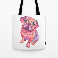 Pugberry Tote Bag