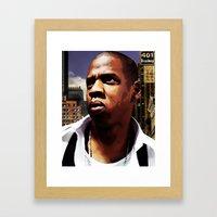 King of New York? Framed Art Print