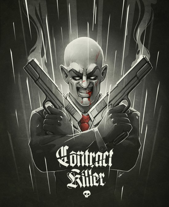 Contract Killer Art Print