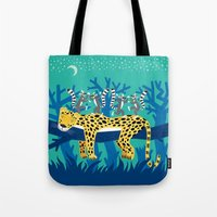 The Leopard And The Lemu… Tote Bag