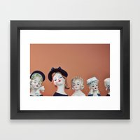 Ladies Who Lunch Framed Art Print