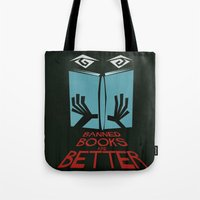 Banned Books Are Better Tote Bag