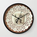 love... Wall Clock