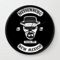 Sons Of Heisenberg Wall Clock