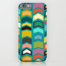 arrow pop turquoise Slim Case iPhone 6s