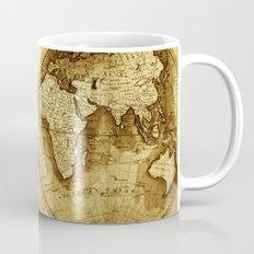 Antique Map of the World Mug