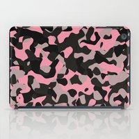 Pink Kitty Camo iPad Case