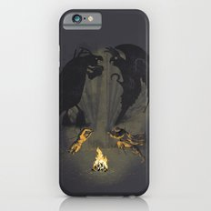 Let's settle it - in the shadows.  Slim Case iPhone 6s