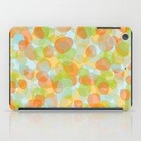 Pebbles Orange iPad Case