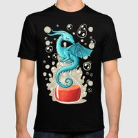 Dragon Potion Mens Fitted Tee Black SMALL