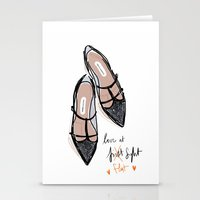 Love at f... lat sight Stationery Cards