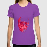 SK1013 Womens Fitted Tee Ultraviolet SMALL