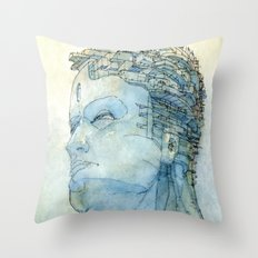Ritratto Di Fantasia Col… Throw Pillow