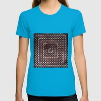 RedDrops Womens Fitted Tee Teal SMALL
