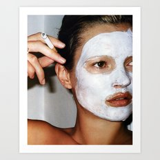 Kate Mask Art Print
