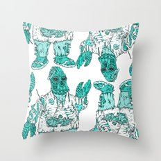Zomberg Throw Pillow