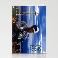 Ken Griffey Jr Seattle M… Stationery Cards