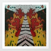 FX#486 - The Narrowing Art Print